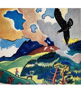 COLMONT (Marie). Quand Cigalou s'en va dans la montagne. Images de F. Rojankovsky.