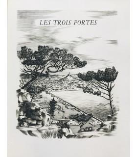MAURRAS (Charles). Vers l'étang de Berre. Ce recueil de notes de voyage consacré à la Provence est illustré par C.-P. Josso.