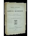 GOBINEAU (Le comte de). Deux études sur la Grèce moderne. Edition originale.