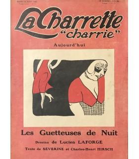 [LAFORGE (Lucien)] SEVERINE et HIRSCH (Charles-Henri). Les Guetteuses de Nuit. Illustrations de Lucien Laforge.