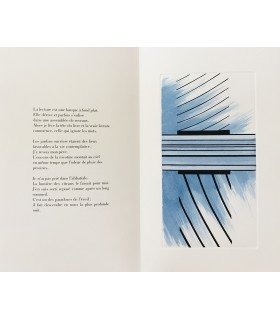 BOBIN (Christian). La Nuit du cœur. Traces et gravures de Michel Boucaut.