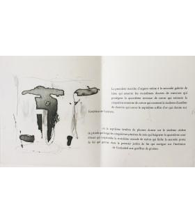 BUTOR (Michel). Talisman 2. Tony Soulié. Edition originale. Illustré par Tony Soulié. Gravure originale.