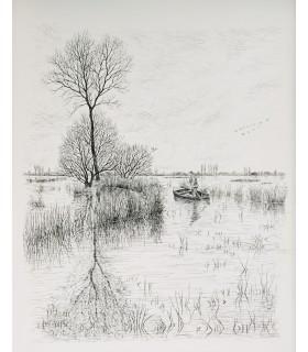 CHATEAUBRIANT (Alphonse de). Au pays de Brière. Illustrations d'Aymar de Lézardière.
