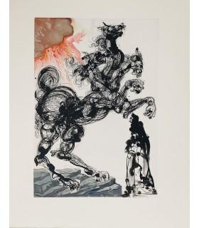 DANTE. La Divine Comédie. L'Enfer. Le Purgatoire. Le Paradis. Illustrations de Dali.