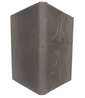 DELAHAYE (Alain). L'Etre perdu. Reliure par Claude Honnelaître. Edition originale. Illustrations par Jean Bazaine.