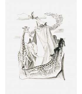 DEMAISON (André). Bêtes sur la terre et dans le ciel. Burins de Robert Cami.