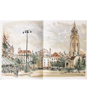 FARGUE (Léon-Paul). Les XX arrondissements de Paris. Lithographies originales de Steinlen.