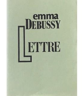 DEBUSSY (Emma). Lettre sur la mort de son père. Edition originale.