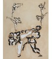 BARDET (Vincent). La Voie du guerrier. Edition originale illustrée par Jacques Foussadier et d'Alain Bar.