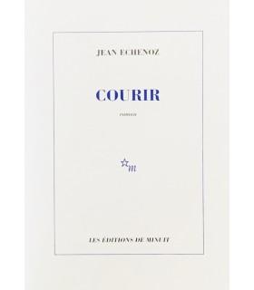 ECHENOZ (Jean). Courir. Edition originale. Envoi autographe.