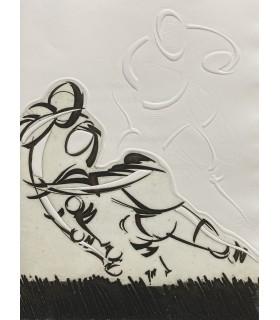 HERRERO (Daniel). Rugby deep at heart. Edition originale. Traduction. Illustrations d'Alain Bar.
