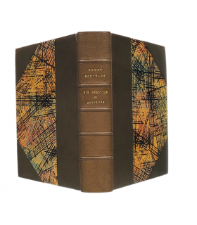 BORDEAUX (Henry). Le Chevalier de l'air. Vie héroïque de Guynemer. Edition originale. Reliure par Catherine Chauvel.