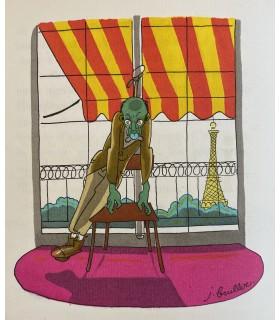 BRULLER (Jean). 21 recettes pratiques de morts violentes. Illustrations par Jean Bruller.
