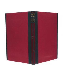 BUTOR (Michel). Matière de rêves III. Troisième dessous. Edition originale. Reliure par Pierre-Lucien Martin.