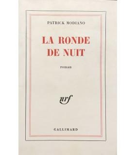 MODIANO (Patrick). La Ronde de nuit. Edition originale.