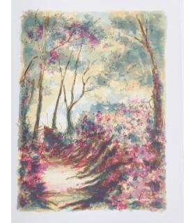 GENEVOIX (Maurice). Forêt voisine. Lithographies originales de Steinlen.