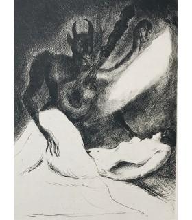 BOUTET (Frédéric). Tableau de l'au-delà. Edition originale, illustrée par Edouard Goerg. Reliure non signée.