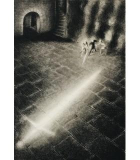 SHAKESPEARE (William). Hamlet. Adaptation et préface par Vercors. Dessin original de Jean Bruller. Edition originale.