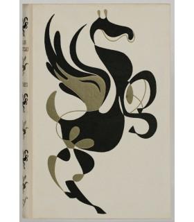 COCTEAU (Jean). Poèmes. Léone - Allégories - La Crucifixion - Neiges [Un ami qui dort]. Edition originale. Cartonnage NRF
