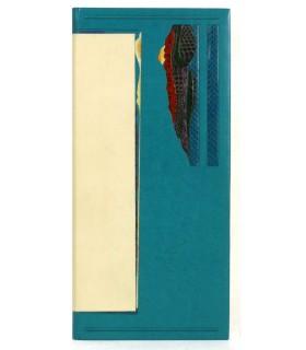 BOHBOT (Michel). Fragile transparence. Edition originale. Reliure par Jean Knoll. Lithographies originales de Paul Jenkins.