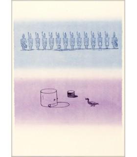 RIBEMONT-DESSAIGNES (Georges). La Ballade du soldat. Lithographies originales de Max Ernst. Edition originale.