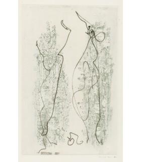 PREVERT (Jacques). Les chiens ont soif. Eaux-fortes et lithographies de Max Ernst. Edition originale.