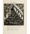 APOLLINAIRE (Guillaume). Le Bestiaire, ou Cortège d'Orphée. Illustrations par Raoul Dufy. Reliure par Saulnier.