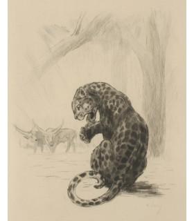 DEMAISON (André). La Comédie animale. Ombre des Dieux. Edition originale. Gravures originales de Odette Denis